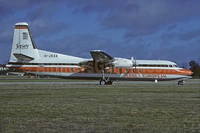 Jersey European Airways Fokker F.27 Mk. 500 G-JEAA (msn 10664) (Richard Vandervord). Image: 934116.