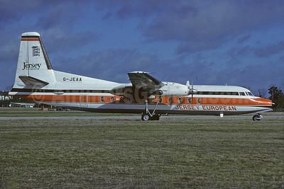 Jersey European Airways Fokker F.27 Mk. 500 G-JEAA (msn 10664) (Richard Vandervord). Image: 934116.