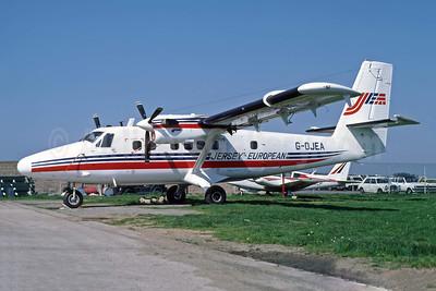 Jersey European Airways-JEA de Havilland Canada DHC-6-300 Twin Otter G-OJEA (msn 699) JER (Richard Vandervord). Image: 949123.