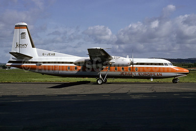 Jersey European Airways Fokker F.27 Mk. 500 G-JEAB (msn 10667) (Richard Vandervord). Image: 934117.