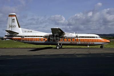 Jersey European Airways Fokker F.27 Mk. 500 G-JEAB (msn 10667) (Richard Vandervord). Image: 934117.