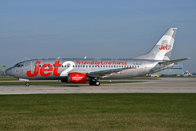 Jet2-Jet2.com Boeing 737-33A G-CELD (msn 23832) (Friendly Low Fares) MAN (Richard Vandervord). Image: 906025.