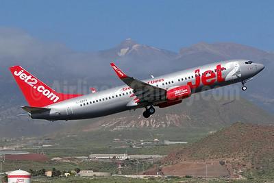 Jet2-Jet2.com Boeing 737-8Z9 WL G-GDFR (msn 30421) (Great flight times) TFS (Paul Bannwarth). Image: 922378.