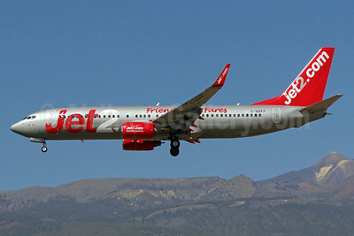 Jet2-Jet2.com Boeing 737-8Z9 WL G-GDFP (msn 28177) (Friendly Low Fares) TFS (Paul Bannwarth). Image: 922377.