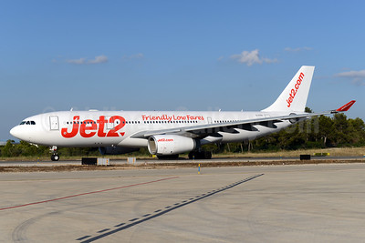 Jet2-Jet2.com (AirTanker) Airbus A330-243 G-VYGL (msn 1555) (Friendly Low Fares) PMI (Ton Jochems). Image: 938273.