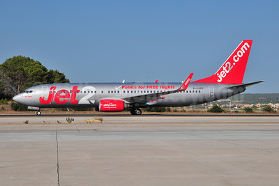 Jet2-Jet2.com Boeing 737-8K2 WL G-GDFC (msn 28375) (Points for FREE flights) PMI (Ton Jochems). Image: 907060.