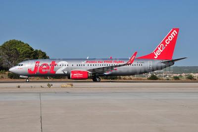 Jet2-Jet2.com Boeing 737-8K2 WL G-GDFC (msn 28375) (Points for FREE flights) PMI (Ton Jochems). Image: 907060.