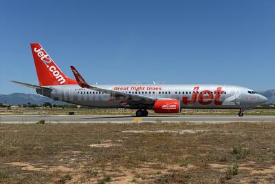 Jet2-Jet2.com Boeing 737-8Z9 WL G-GDFS (msn 32243) (Great flight times) PMI (Ton Jochems). Image: 934109.