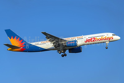 Jet2holidays (Jet2) Boeing 757-236 G-LSAD (msn 24397) (Package holidays you can trust) MAN (Rob Skinkis). Image: 937801.