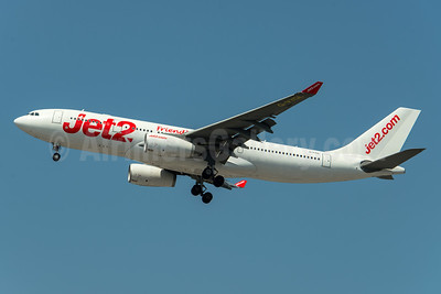 Jet2-Jet2.com (AirTanker) Airbus A330-243 G-VYGL (msn 1555) (Friendly Low Fares) MAN (Rob Skinkis). Image: 942357.