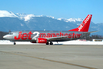 Jet2's 2004 Manchester promotional livery
