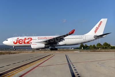 Jet2-Jet2.com (AirTanker) Airbus A330-243 G-VYGL (msn 1555) (Friendly Low Fares) PMI (Ton Jochems). Image: 938272.