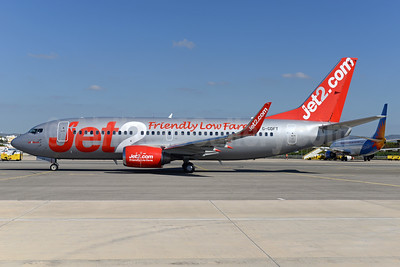 Jet2-Jet2.com Boeing 737-36Q WL G-GDFT (msn 29141) (Friendly Low Fares) FAO (Ton Jochems). Image: 935470.