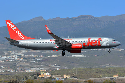Jet2-Jet2.com Boeing 737-8K2 WL G-GDFC (msn 28375) (22 kg baggage allowance) TFS (Paul Bannwarth). Image: 927693.