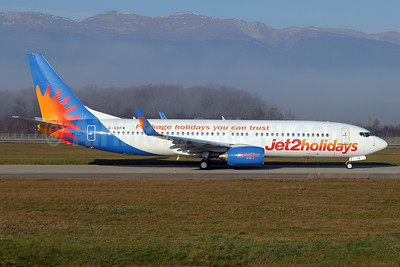 Jet2holidays (Jet2) Boeing 737-8K5 WL G-GDFW (msn 27986) (Package holidays you can trust) GVA (Paul Denton). Image: 934789.