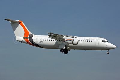 Jota Aviation BAe RJ100 G-JOTS (msn E3355) SEN (Keith Burton). Image: 938834.