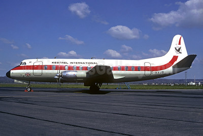 Kestrel International Airways Vickers Viscount 815 G-AVJB (msn 375) LDE (Christian Volpati Collection). Image: 934413.