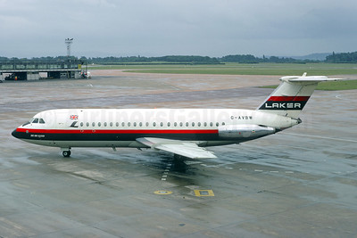 Laker Airways (UK) BAC 1-11 320AZ G-AVBW (msn 107) LGW (Christian Volpati Collection). Image: 927667.