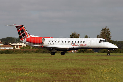 Loganair Embraer ERJ 135LR (EMB-135LR) G-SAJB (msn 145473) SEN (Keith Burton). Image: 947539.
