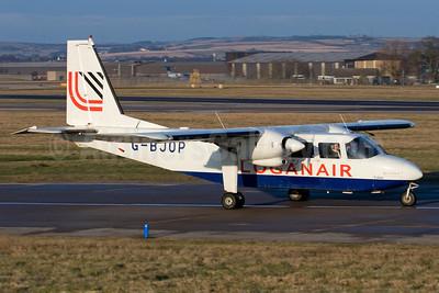 Loganair Britten-Norman BN-2B-26 Islander G-BJOP (msn 2132) ABZ (Gary Watt). Image: 902597.