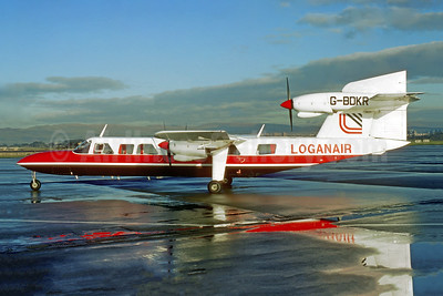 Loganair Britten-Norman BN-2A Mk. 3-2 Trislander G-BDKR (msn 1020) (Jacques Guillem Collection). Image: 950688.