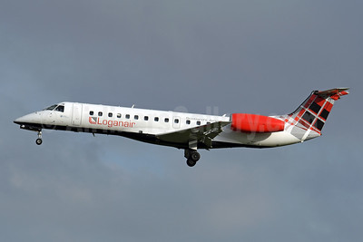 Loganair Embraer ERJ 135LR (EMB-135LR) G=SAJB (msn 145473) BRU (Karl Cornil). Image: 946100.