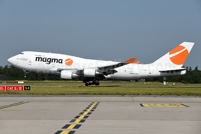 Magma Aviation - Air Atlanta Icelandic Boeing 747-45E (F) TF-AMR (msn 27898) LGG (Ton Jochems). Image: 946937.