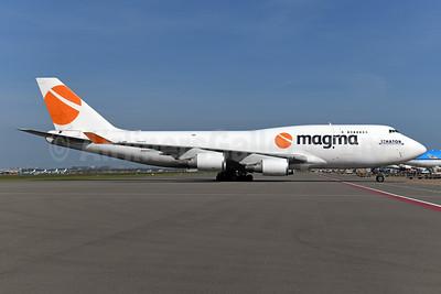 Magma Aviation - Air Atlanta Icelandic Boeing 747-4F6 (F) TF-AMN (msn 27602) AMS (Ton Jochems). Image: 950079.