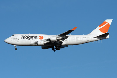 Magma Aviation - Air Atlanta Icelandic Boeing 747-481 (F) TF-AMP (msn 24801) JFK (Fred Freketic). Image: 947761.