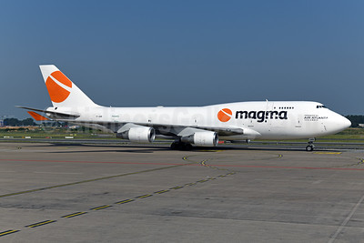 Magma Aviation - Air Atlanta Icelandic Boeing 747-45E (F) TF-AMR (msn 27898) LGG (Ton Jochems). Image: 946936.