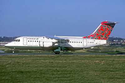 Manx Airlines BAe 146-200 G-MIMA (msn E2079) (Jacques Guillem Collection). Image: 944128.