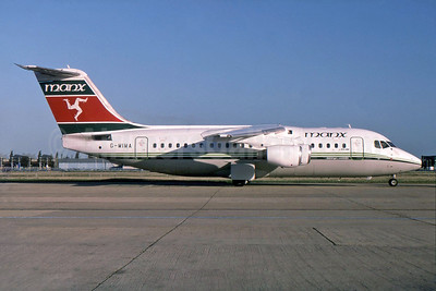 Manx Airlines BAe 146-200 G-MIMA (msn E2079) LHR (SPA). Image: 929833.