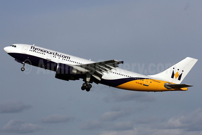 Monarch Airlines (flymonarch.com) Airbus A300B4-605R G-OJMR (msn 605) LGW (Antony J. Best). Image: 902109.