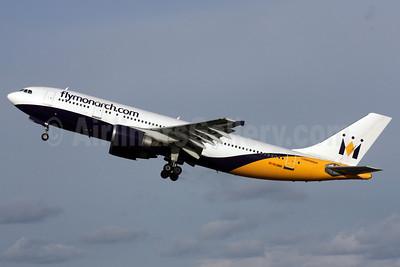 Monarch Airlines (flymonarch.com) Airbus A300B4-605R G-OJMR (msn 605) LGW (Antony J. Best). Image: 902109.