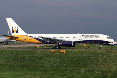 Monarch Airlines (flymonarch.com) Boeing 757-2T7 G-MONK (msn 24105) LGW (Antony J. Best). Image: 906387.