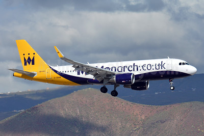 Monarch Airlines (Monarch.co.uk) Airbus A320-214 WL G-ZBAB (msn 5581) TFS (Paul Bannwarth). Image: 927890.