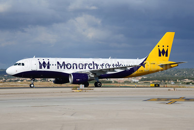 Monarch Airlines (Monarch.co.uk) Airbus A320-214 G-OZBX (msn 1637) PMI (Ton Jochems). Image: 912769.