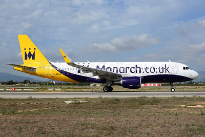 Monarch Airlines (Monarch.co.uk) Airbus A320-214 WL G-ZBAB (msn 5581) PMI (Ton Jochems). Image: 921044.
