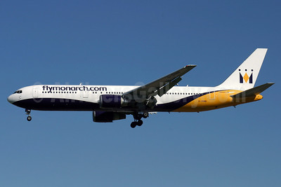 Monarch Airlines (flymonarch.com) Boeing 767-31K ER G-DIMB (msn 28865) LGW (Antony J. Best). Image: 906388.