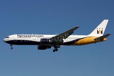 Monarch Airlines (flymonarch.com) Boeing 767-31K ER G-DIMB (msn 28865) LGW (Antony J. Best). Image: 906388.
