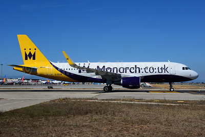 Monarch Airlines (Monarch.co.uk) Airbus A320-214 WL G-ZBAB (msn 5581) PMI (Ton Jochems). Image: 912771.