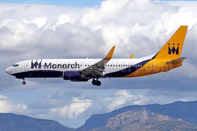 Monarch's first Boeing 737-800