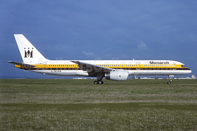 Monarch Airlines Boeing 757-2T7 G-MONB (msn 22780) ORY (Jacques Guillem). Image: 939917.