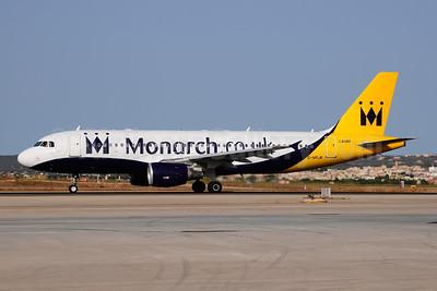 Monarch Airlines (Monarch.co.uk) Airbus A320-214 WL G-MRJK (msn 1081) PMI (Ton Jochems). Image: 953567.
