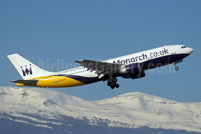 Monarch Airlines (Monarch.co.uk) Airbus A300B4-605R G-MAJS (msn 604) GVA (Paul Denton). Image: 907648.
