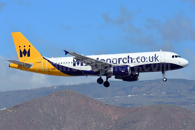Monarch Airlines (Monarch.co.uk) Airbus A320-214 G-OZBW (msn 1571) TFS (Paul Bannwarth). Image: 927000.