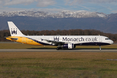 Monarch Airlines (Monarch.co.uk) Airbus A321-231 G-OZBM (msn 1045) GVA (Paul Denton). Image: 934649.