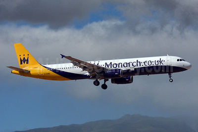 Monarch Airlines (Monarch.co.uk) Airbus A321-231 G-OZBE (msn 1707) LPA (Paul Bannwarth). Image: 927889.