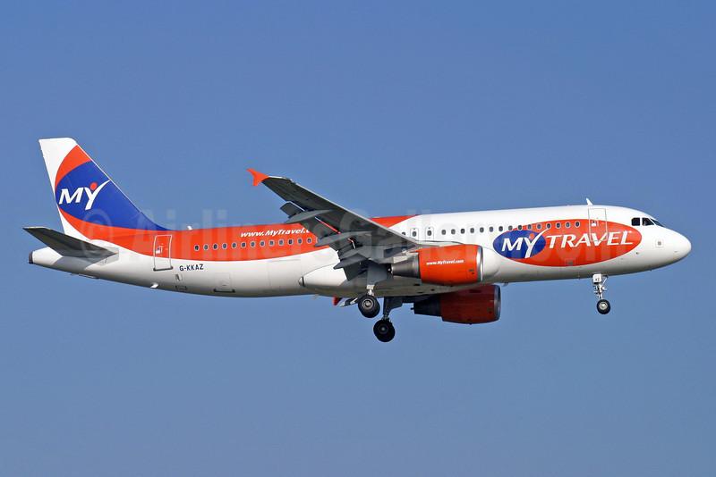 MyTravel Airways (UK) Airbus A320-214 G-KKAZ (msn 2003) LGW (Antony J. Best). Image: 900296.