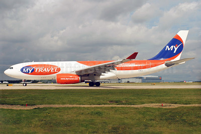 MyTravel Airways (UK) Airbus A330-243 G-MLJL (msn 254) MAN (Antony J. Best). Image: 900299.
